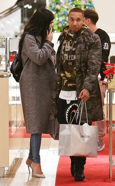 Kylie Jenner and Tyga Go Christmas Shopping Hand in Hand: ''They Definitely Looked Like a Couple''