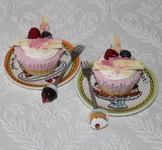 How to: Kleine kwark gebakjes.