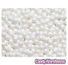 Just found Sugar Candy Beads - Pearl White: 2LB Bag @CandyWarehouse, Thanks for the #CandyAssist!
