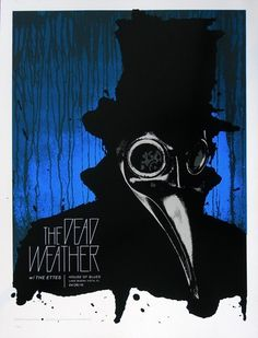 The Dead Weather Concert Poster