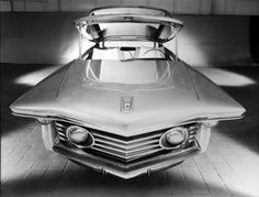 """1961 Chrysler TurboFlite Prototype  / if it's a """"concept"""" you can't physically touch it until a """"prototype"""" is made based on that concept. Just imagine if you will, what my childhood must have been like if that simple and meaningless switching of words annoys me at my ripe old age?"""