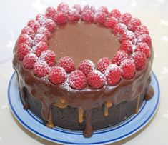Cake Recipes, Dessert Recipes, Fancy Desserts, Something Sweet, Cheesecakes, Nutella, Raspberry, Deserts, Sweets