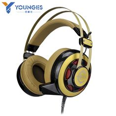 Professional computer game brand headphones Glowing headphones Vibration Effects High quality HIFI headset With a mcrophone