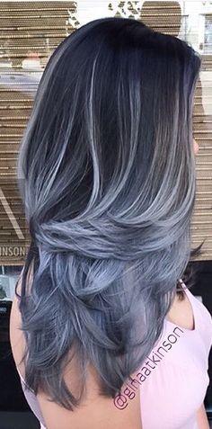 White blue black