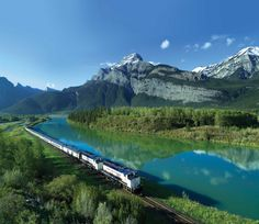 Soak in the beauty of the Canadian Rockies on Canadian Pacific Railway