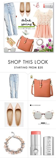 """""""Think Spring!"""" by jckallan ❤ liked on Polyvore featuring H&M, BeiBaoBao, ASOS, KOON, MBLife.com, Wildfox, women's clothing, women, female and woman"""
