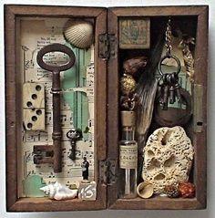 altered cigar box | Crafts - Altered Art & Mixed Media