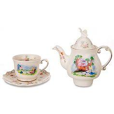 Your WDW Store - Disney Tea Set - Alice in Wonderland Tea Mug & Teapot