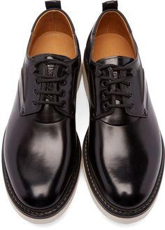 OAMC - Black Leather Mara Oxfords Man Office 712be40c50