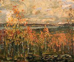 Hillside by Arthur Lismer (Group of Seven)