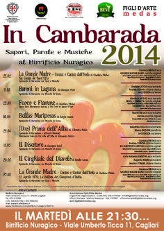 """Rassegna """"In Cambarada"""" al Birrificio Nuragico - Teatro #Sardegna"""