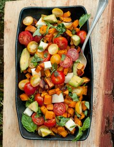 A Week of Simple Vegetarian Recipes from The Forest Feast Butternut Caprese