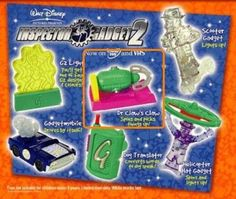 McDonald's 2003 Inspector Gadget 2 Dr. Claw's Claw #6