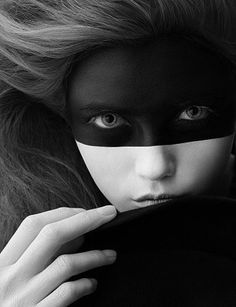 Incognito ~ Photo by Ben Hassett for Vogue Nippon