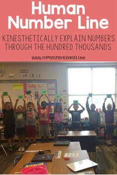 Elementary teacher looking for classroom ideas to teach class math? These place value activities will help teach kids about rounding numbers! Rounding Activities, Number Line Activities, 3rd Grade Activities, Place Value Activities, Math Place Value, Math Games, Place Values, Fourth Grade Math, Second Grade Math