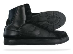 Nike Air Troupe Mid Womens Dance sneakers / Shoes - Black