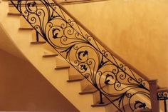 Universal Iron Doors has a wide selection of wrought hand forged iron door products for your home. Including front entry doors, iron french doors, iron pivot doors and more. Iron Stair Railing, Wrought Iron Stairs, Staircase Railings, Staircases, Banisters, Rod Iron Fences, Iron Gates, Iron Doors, Rod Iron Decor