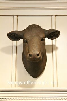 Savvy Southern Style: Meet My New Cow from decor steals