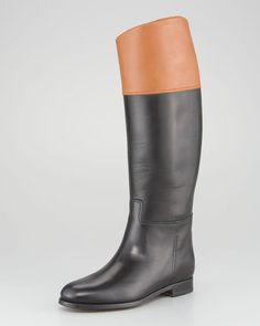 ShopStyle: Ralph LaurenSabella II Two-Tone Riding Boot