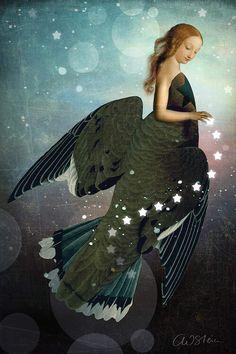 Illustrator, Digital Art, Digital Image, Ange Demon, Affinity Photo, Image Originale, Photoshop, Magic Realism, Wassily Kandinsky