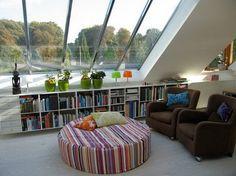 Rincón de lectura con gran ventanal!