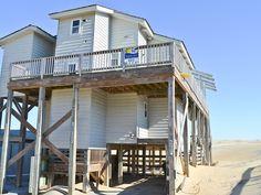 Takoma, S Nags Head, Ex Oceanfront, $1300 All bedrooms  1st floor, Main floor top level