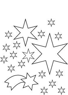 ausmalbilder weihnachten sterne 09
