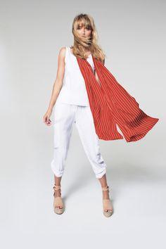 White Jeans, Harem Pants, The Selection, Shopping, Fashion, Moda, Harem Trousers, Fashion Styles, Harlem Pants