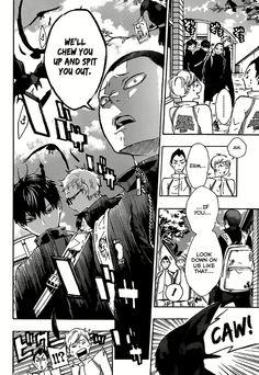 manga: haikyuu - the crows being crows part 1