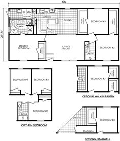 Three bed/two bath with optional walk-in pantry