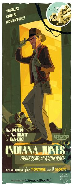 Indiana Jones print by PatrickSchoenmaker.deviantart.com on @deviantART