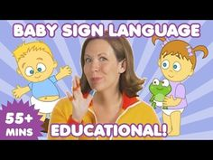 Baby Sign Language   Sign Language for Babies   Nursery Rhymes   Baby Songs - YouTube