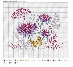 62 Trendy ideas for embroidery designs free lace flowers Butterfly Cross Stitch, Cross Stitch Love, Cross Stitch Needles, Cross Stitch Cards, Cross Stitch Flowers, Cross Stitch Designs, Cross Stitching, Cross Stitch Embroidery, Embroidery Patterns