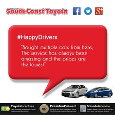 South Coast Toyota In Costa Mesa, CA Offers Great Prices On All New Toyota  Models And Used Cars. We Serve Drivers In Orange County, Irvine, Huntington  Beach ...