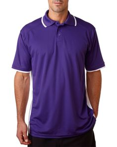 B Dry Colorblock Polo – Buy wholesale badger b dry colorblock polo at Gotapparel.com.