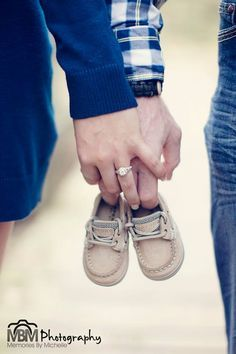 Maternity. Little shoes