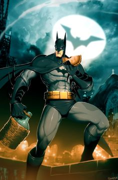 Batman The Empanada Knigh byGonzalo Ordóñez Arias