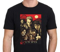 838e964744b82 2017 New Arrivals Hipster The Lost Boys Horror Movie Art Poster Design Men s  Tee Shirt Cotton Short Sleeve Tees