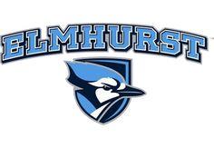 Bluejays, Elmhurst College (Elmhurst, Illinois) Div III, College Conference of Illinois and Wisconsin #Bluejays #ElmhurstIllinois #NCAA (L9682)