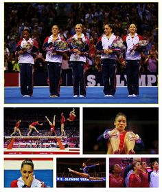 The U.S. women charged their way to a team gold in London, hitting every routine perfectly and leaving no question as to who was the best.