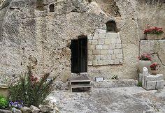 La Tumba del Jardín en Jerusalén - posible lugar donde enterraron a Jesús