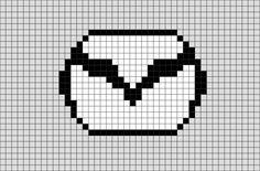 Mazda, 8 Bit Art, Hama Beads Design, Minecraft Pixel Art, Mother And Baby, My Ride, Art Logo, Cross Stitch Designs, Needlepoint