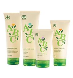 Go gaga and get the whole set! All four new branding ABC products for £68..