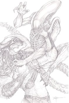 Alien vs. Predator Xenomorph vs. Yautja Tom Woodruff Jr. vs. Brian Steele This past year I met two of my heros Tom and Brian the men in the suits, and in Tom's case the man that creates the suits. ...