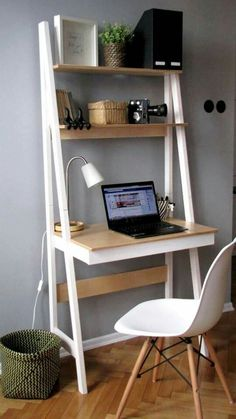 New room decor ideas desk small spaces Ideas