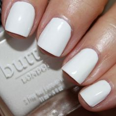 You know that wearing white after Labor Day is totally acceptable, yet still can't bring yourself to do it? Well here's how to break out the stark shade in a very small, non-summery dose: on your nails. Try Butter London Cotton Buds, an opaque marshmallow cream shade ($15; butterlondon.com).