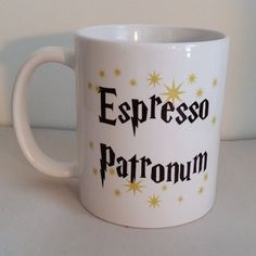 Espresso Patronum Magical Harry Potter Coffee Mug