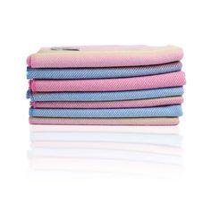 Cushendale 100% Lambswool Baby Blanket Blue