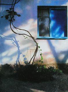 by Peter Kozlov Marc Chagall, Shadow Play, Blue Art, Modern Wall Art, Petra, Unique Art, Northern Lights, Illustration Art, Watercolor