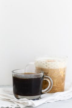This homemade cinnamon dolce syrup is the perfect accouterment to your weekly coffee. Filled with warm cinnamon flavor and sweetened with dark brown sugar - you're sure to love this tasty syrup! Easy Drink Recipes, Best Dessert Recipes, Coffee Recipes, Fun Desserts, Amazing Recipes, Homemade Syrup, Homemade Vanilla, Kid Drinks, Yummy Drinks